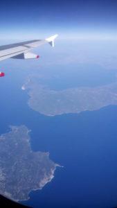 Anflug Athen | Aegaeis