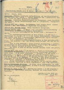 KTB Kriegstagebuch Nemea | Jaegerregiment 22 | Griechenland