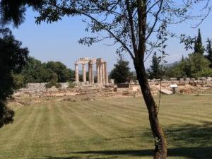 Griechenland Psari Nemea Zeustempel